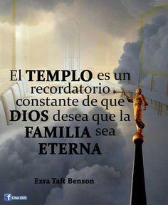 Todas las familias pueden ser eternas.eso es el propósito de... Dios