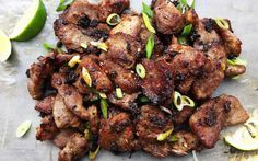 Vietnamese Restaurant-Style Grilled Lemongrass Pork by iheartumami #Pork #Lemongrass #Vietnamese