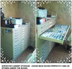 My best choice for storage - surveyor cabinet