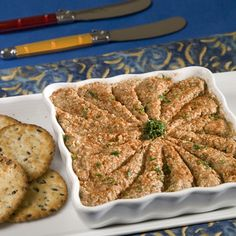 """Serve a traditional-tasting pâté during the holidays with this delicious Vegetarian """"Liver"""" recipe.data-pin-do="""