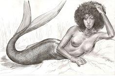 Nyasia mermaid love by mozer1a0x