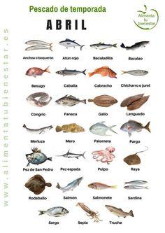 Cocina – Recetas y Consejos Meat Recipes, Seafood Recipes, Food Inc, Seafood Seasoning, Sushi Art, Sushi Fish, Healthy Chicken Dinner, Kunst Poster, Seasonal Food