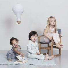 Suspension enfant Montgolfière. Une suspension textile adorable ...