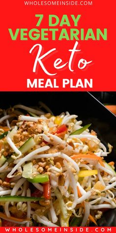 😫Tired of making your own keto meals for a week? 🤔 Here we have come up with a 7 Day Vegetarian EASY Keto Meal Plan that you'll surely love 🥦🥑 CLICK THE LINK 👉to check out the easy keto recipes😍👌 Flat Tummy Fast, Flat Tummy Tips, Flat Belly Diet, Losing Weight Tips, Lose Weight, Easy Keto Meal Plan, Vegetarian Keto, Lose Body Fat, Fat Fast