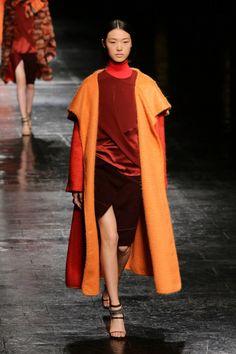 designer coats colo blocking   NYFW Trend Spotting: Color Block Coats Make a Statement for Fall 2014