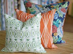 Naga, Green Pillow by Tonic Living