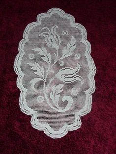 Unique Crochet, Crochet Art, Crochet Square Patterns, Crochet Designs, Filet Crochet Charts, Crochet Stitches, Lacey Pattern, Lace Stencil, Crochet Dollies
