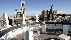 La Gran Vía de Madrid en cinco terrazas elevadas