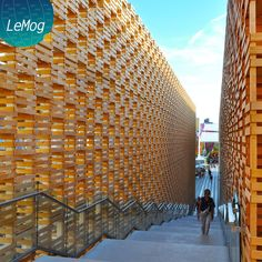 """Laurent ANTOINE """"LeMog"""" - World Expo Consultant: Le Pavillon Polonais à Expo 2015 Milano"""