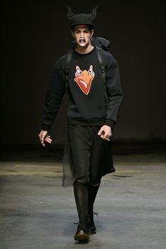 Bobby Abley LCM - AW14 London Collections