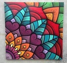 Mandala wall art - Graphite Mandala by Brazilian Danilo Roots – Mandala wall art Mandala Art Lesson, Mandala Painting, Mandala Drawing, Diy Painting, Wall Art Designs, Mandala Design, Doodle Art, Painting Inspiration, Watercolor Art