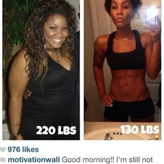 220 to 130-- How she lost 12 dress sizes in 5 months.