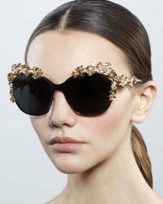 Dolce and Gabanna baroque sunglasses