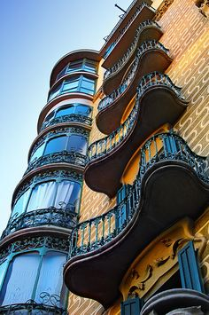 Barcelona- the most beautiful city I have ever seen! All the Architecture designed by Gaudi is like it has been taken out of a fairy tale!