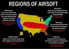 M7 Graphic: U.S. Airsoft Regions