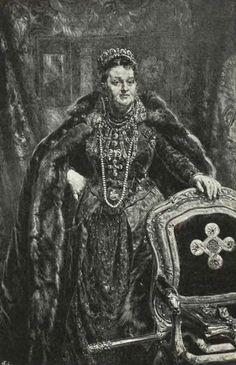 Maria z ks. Sanguszków hrabina Alfredowa Potocka-portret jana Matejki.