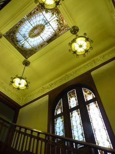 Verrière art nouveau, Villa Berliet.
