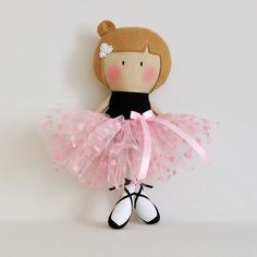 The Home of My Teeny-Tiny Dolls® - Handmade Fashion Dolls Peg Doll, Felt Dolls, Doll Toys, Fabric Doll Pattern, Fabric Dolls, Doll Patterns, Ballerina Doll, Operation Christmas Child, Tiny Dolls