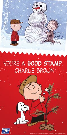 Spread holiday cheer with A Charlie Brown Christmas forever stamps featuring all of your favorite characters. Available now, exclusively from the U.S. Postal Service.