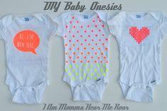 I Am Momma - Hear Me Roar: DIY Baby Onesies