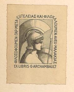 Léo Mabmacien, archambault_ex-librisarchambault_ex-libris
