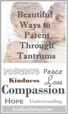 Working with kids, means connecting with parents.  Here's another one to share with #parents.  Beautiful ways to parent through tantrums.