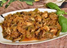 Japchae, Pork, Beef, Chicken, Ethnic Recipes, Kale Stir Fry, Meat, Pork Chops, Steak