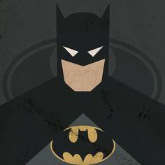 Tutoriais Photoshop::: Super heróis em versões minimalistas.