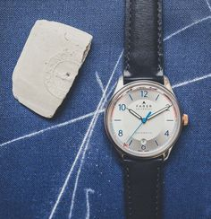 """Farer 'Swiss Made' Automatic Watches From London With Unique Vintage Style - Learn more about his new collection at: aBlogtoWatch.com - """"London-based Farer watches recently launched their debut collection of products in 2015 and have now introduced their first collection of automatic timepieces. Using reliable Swiss Made ETA 2824-2 mechanical movements, the new automatic watch collection is classically inspired with a modern design language..."""""""