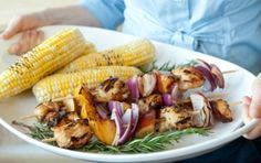Serve this new summer favorite with grilled corn and zucchini. Watch our how-to video.