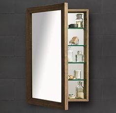 Weathered Oak Medicine Cabinet