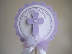 God Bless CenterPiece...First by CreativePartyCrafts on Etsy