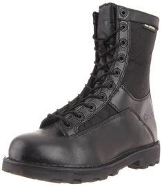 3c9bb029b2d0 Bates Men s 8 Inches Durashocks Lace-to-Toe Work Boot Black 11 M US