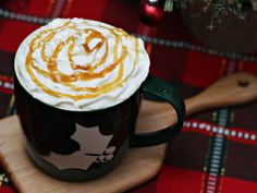 Vanilla Caramel Latte -- how to make your own delicious coffee house drink at home