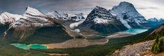 Berg Lake, Mt Robson