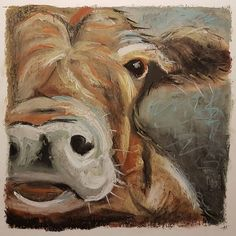 This #cow after a #painting I found on #pinterest in #softpastel #rembrandtpastels  #bestpastelart #pastelcow #cows #pasteldrawing #pastelsketch #pastelpainting #cowsofinstagram #cowart #sketch #doodle #sketchbook #sketching #drawing #instasketch #instaart #instaartist #sketchaday #dailyart #pastelartist #igartist