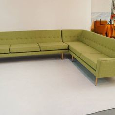 Sunday Lounging With Our Bespoke Slimline Sofa This Corner Unit Example Was For A Client
