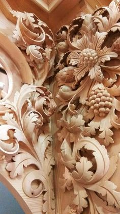 Wood Carving Designs, Wood Carving Tools, 3d Art Painting, Leather Tooling Patterns, Wood Appliques, Chip Carving, Moldings And Trim, Metal Engraving, Clay Design