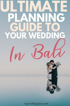 Are you planning a wedding in Bali? Here is the ultimate planning guide and all the things you need to know! #destinationweddingtips #weddinginbali #weddingplanningguide Event Planning Tips, Wedding Planning Guide, Wedding Advice, Plan Your Wedding, Wedding Ideas, Wedding Inspiration, Bali Wedding, Budget Wedding, Wedding Table