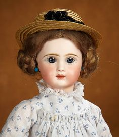 Tears for Mina - March 17-18, 2018 at the Hyatt Coconut Point, Naples, FL:                       421  French Bisque Bebe by Jules Steiner from Au Paradis Des Enfants Parisian Toy Shop