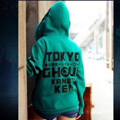 Kaneki Ken cosplay hoodie anime Tokyo Ghoul hooded sweatshirts