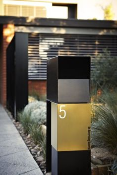 Austin Design Associates. Mailbox