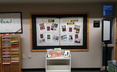 February 2017 bulletin board to celebrate some of the ALA Award Books.