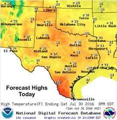 New post (Scattered Showers Again Today - Heating Up and Drying Out Next Week) has been published on Texas Storm Chasers.