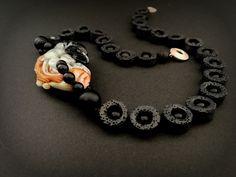 Amsterdam, Crochet Necklace, Lava, Jewelry, Design, Jewlery, Crochet Collar, Jewels, Jewerly