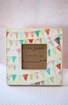 party bunting frame
