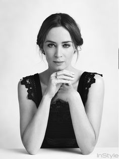 "Emily Blunt of ""Sicario"" poses at TIFF."