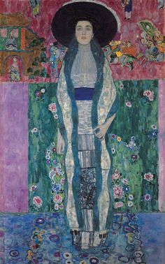 "Gustav Klimt, ""Portrait of Adele Bloch-Bauer II"" (courtesy the Neue Galerie)"
