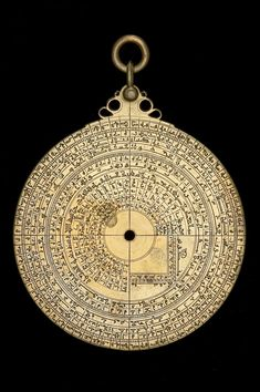 Date:	1081/2. Maker:	Muḥammad ibn Sa'īd as-Ṣabbān. Material:	Brass. Astrolabe Catalogue Inventory no.	52473. The back contains 7 scales of the following types: Degree; Lunar Mansions; Zodiacal signs; Calendar; Perpetual calendar; Shadow square. The back is inscribed: with a maker's signature marked as مما أحكم صنعته محمد بن سعيد الصبان في مدينة الفرج حرسها الله في سنة تعد الهجرية (Among the objects skilfully made by Muḥammad ibn Saʿīd as-Ṣabbān in Guadalajara (Madīnat al-Faraj) in A.H…