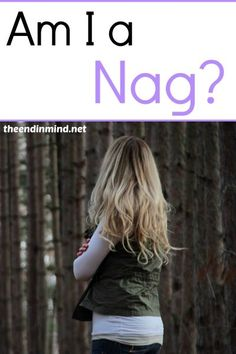 Am I a Nag? - By Lorrie Young